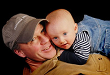 Father with Baby, Orthopedic Care in Woodland Park, CO